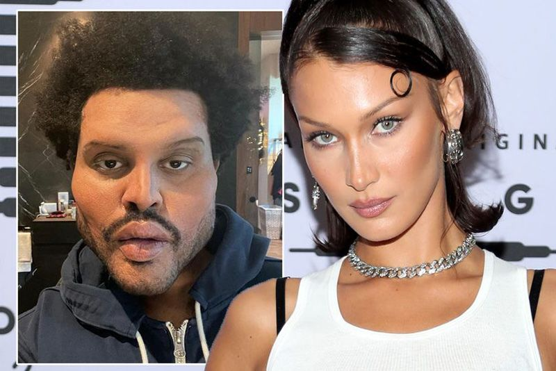 Entertainment,Bella Hadid,Plastic Surgery Face,Fans,The Weeknd,speculate,music video,