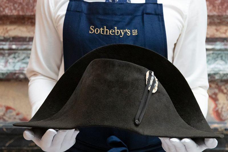 News,napoleon hat auction paris,auction paris,napoleon  hat auction,sothebys auction,auction ,napoleon hat,
